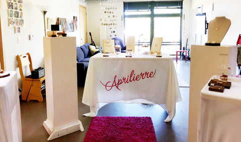 Aprilierre studio open during art-a-whirl