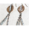 """Autumn Echoes"" ~Bronze Earrings with faceted labradorite gemstones - Aprilierre"