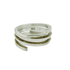 Ring-Sterling Silver Coil Ring - Aprilierre