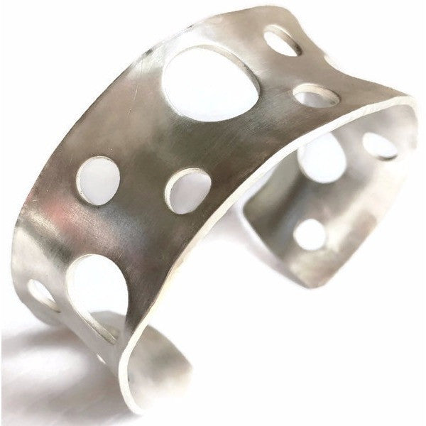 Zero Collection - Sterling Silver Statement Cuff - Aprilierre