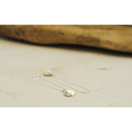 Earring Threads Sterling silver & 14 kt Gold-filled - Aprilierre