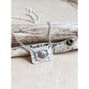 """The Tender Poem"" ~Sterling Silver Tourmaline Necklace - Aprilierre"