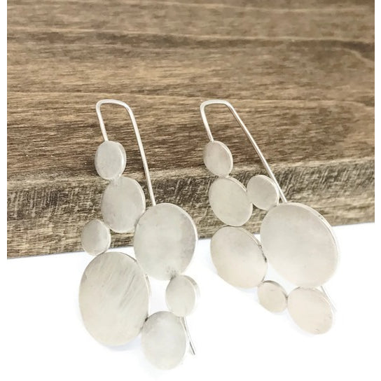 Sterling Silver Statement Earrings