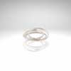 Trio Rings~ Sterling Silver, 14kt Gold-filled set of Three Interlocking Rings - Aprilierre
