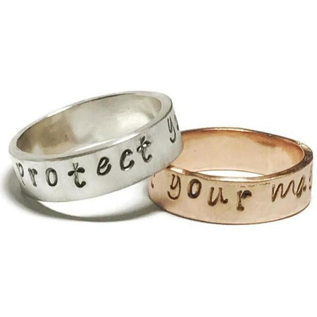 "Ring ""Protect Your Magic"" - Aprilierre"