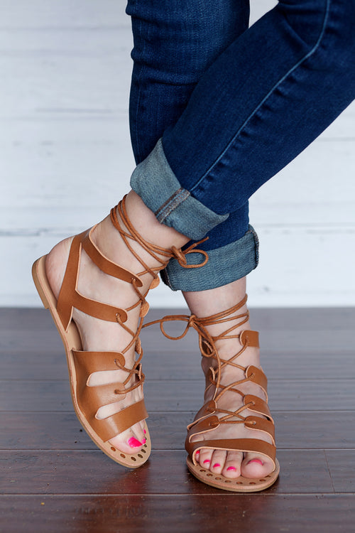 All Tied Up Sandals