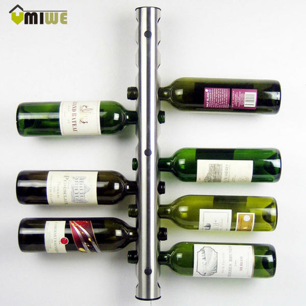 8 - 12 Holes Home Wine Bottle Holder Display Stand