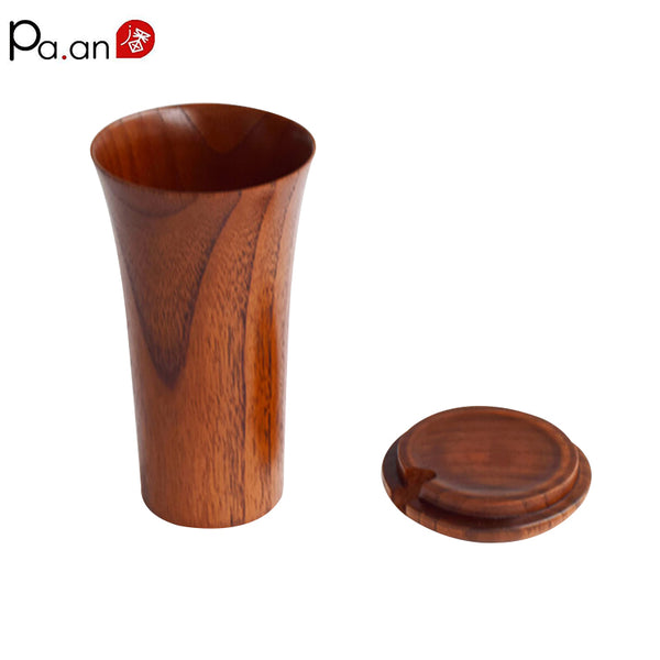 Wooden Cup with Cover