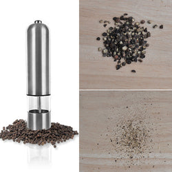 1pcs Automatic Battery Operated Pepper Mill