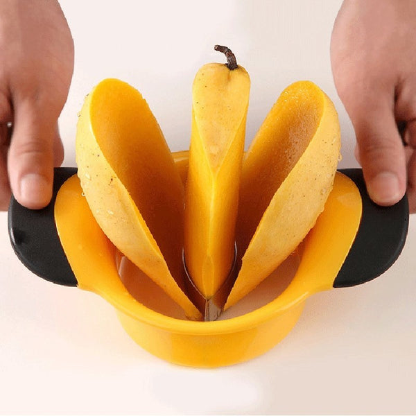 Mango Slicer with Stainless Steel blade