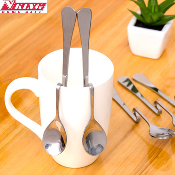 Novelty Stainless steel twisted spoon