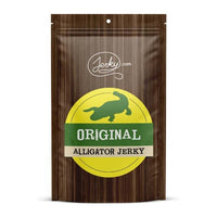 All-Natural Alligator Jerky - Original by Jerky.com