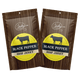 All-Natural Beef Jerky - Black Pepper - 1 Pound Bag by Jerky.com