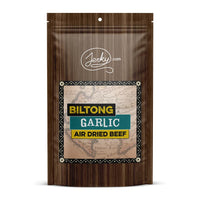 All-Natural Beef Biltong Jerky - Garlic by Jerky.com