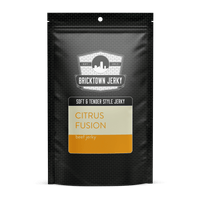 Soft and Tender Style Beef Jerky - Citrus Fusion by Bricktown Jerky