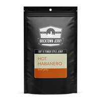 Soft and Tender Style Beef Jerky - Hot Habanero by Bricktown Jerky
