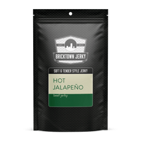 Soft and Tender Style Beef Jerky - Hot Jalapeno by Bricktown Jerky