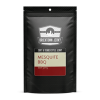 Soft and Tender Style Beef Jerky - Mesquite BBQ by Bricktown Jerky