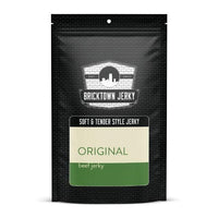 Soft and Tender Style Beef Jerky - Original by Bricktown Jerky