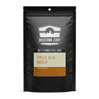 Soft and Tender Style Beef Jerky - Pale Ale Beer by Bricktown Jerky