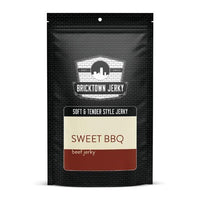 Soft and Tender Style Beef Jerky - Sweet BBQ by Bricktown Jerky