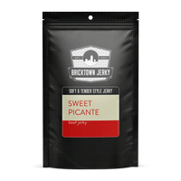 Soft and Tender Style Beef Jerky - Sweet Picante by Bricktown Jerky