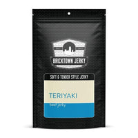 Soft and Tender Style Beef Jerky - Teriyaki by Bricktown Jerky