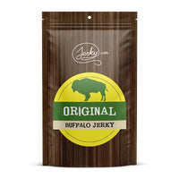 All-Natural Buffalo Jerky - Original by Jerky.com