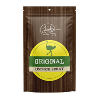 All-Natural Ostrich Jerky - Original by Jerky.com