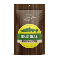 All-Natural Salmon Jerky - Original by Jerky.com