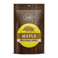 All-Natural Wild Boar Jerky - Maple by Jerky.com