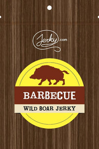 All-Natural Wild Boar Jerky - Barbecue by Jerky.com