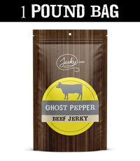 All-Natural Beef Jerky - Ghost Pepper - 1 Pound Bag by Jerky.com