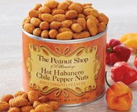 Seasoned Peanuts - Hot Habanero by The Peanut Shop