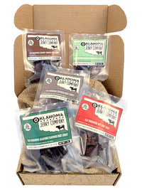 Old Fashioned Style Jerky Sampler Gift Box by Jerky.com