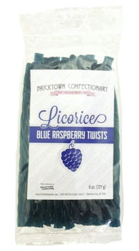 Old Fashioned Licorice Twists - Blue Raspberry by Bricktown Confectionary