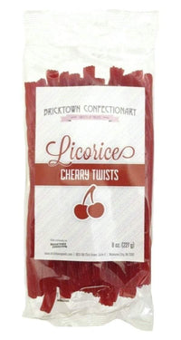 Old Fashioned Licorice Twists - Cherry by Bricktown Confectionary