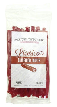 Old Fashioned Licorice Twists - Cinnamon by Bricktown Confectionary