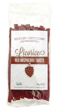 Old Fashioned Licorice Twists - Red Raspberry by Bricktown Confectionary