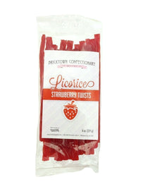 Old Fashioned Licorice Twists - Strawberry by Bricktown Confectionary