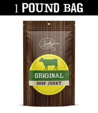 All-Natural Beef Jerky - Original - 1 Pound Bag by Jerky.com