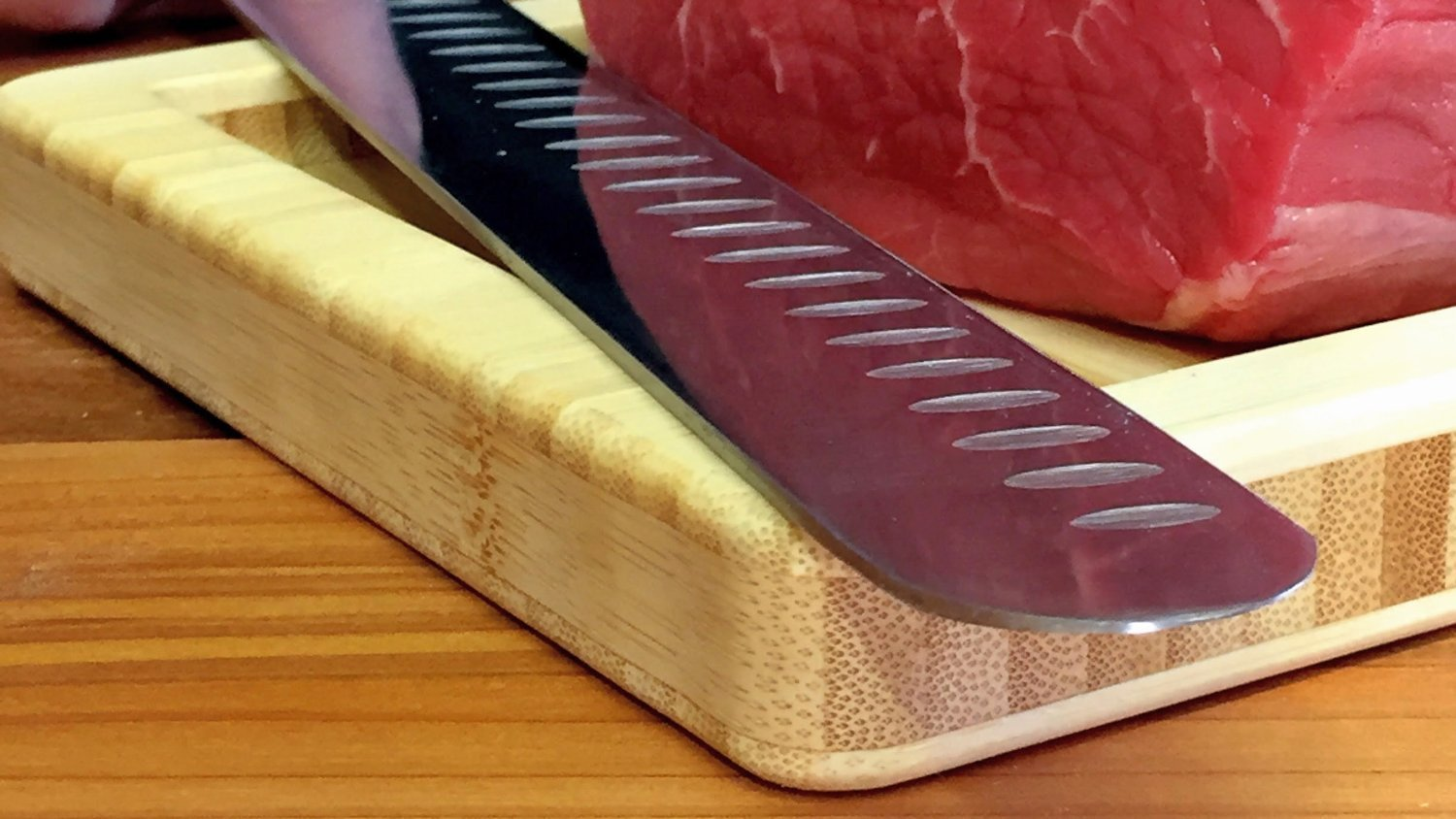 professional jerky meat slicing knife stainless like the pros use