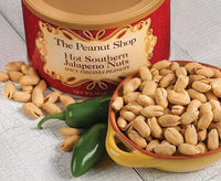 Seasoned Peanuts - Hot Southern Jalapeno The Peanut Shop