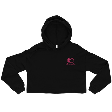 Always Motivated Women's Crop - Black/Pink