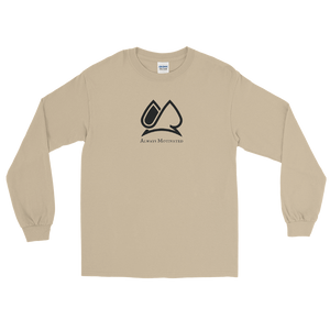 "Classic ""AM"" Long Sleeve Tee (Sand)"