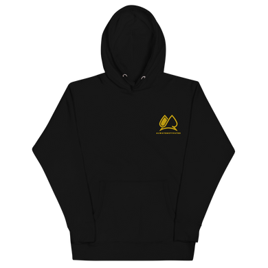 Always Motivated Hoodie - Black/Gold