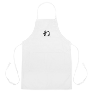 Always Motivated Apron (white/black)