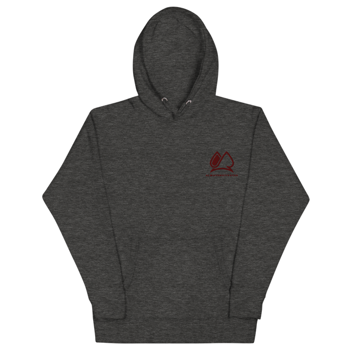 Always Motivated Hoodie - Charcoal/Maroon