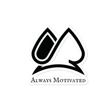 Always Motivated Logo stickers