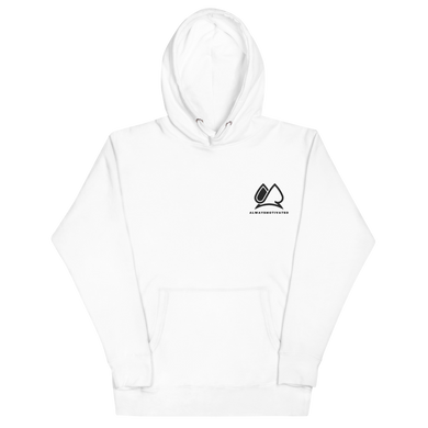 Always Motivated Hoodie - White/Black